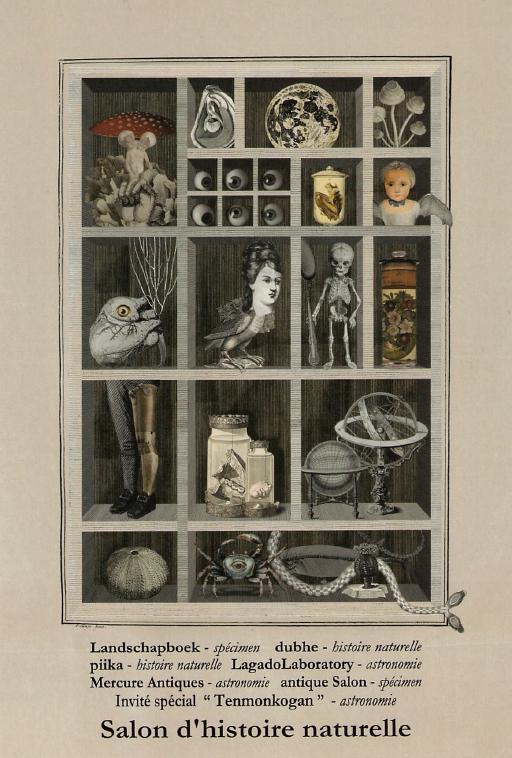 Salon d'histoire naturelle 博物蒐集家の応接間