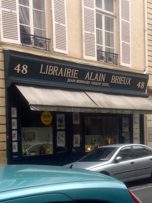 La Librairie Alain Brieux
